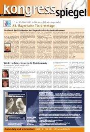 23. Bayerische Tierärztetage