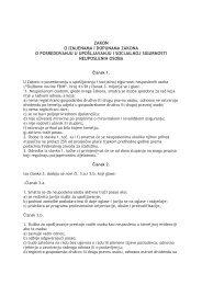 zakon o izmjenama i dopunama zakona o posredovanju u ...