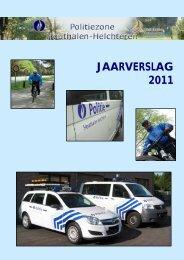 JAARVERSLAG 2011 - Lokale Politie