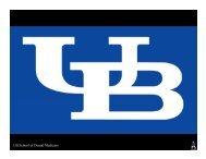 UB School of Dental Medicine