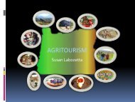 Agritourism Models (PowerPoint) - Oregon Small Farms