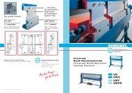 Prospekt UK/UKV - Schechtl Maschinenbau GmbH