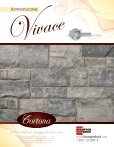 Vivace Specifications - Brampton Brick - Page 2