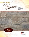 Vivace Specifications - Brampton Brick - Page 3