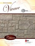Vivace Specifications - Brampton Brick - Page 4