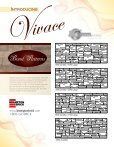 Vivace Specifications - Brampton Brick - Page 7