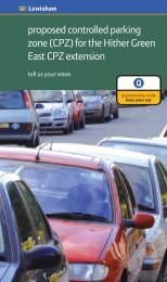 proposed controlled parking zone (CPZ) for the ... - Brian Robson