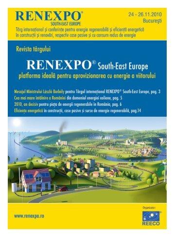 26 noiembrie 2010, Sala Palatului Bucureçti - RENEXPO® South ...