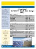26 noiembrie 2010, Sala Palatului Bucureçti - RENEXPO® South ... - Page 2