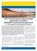 26 noiembrie 2010, Sala Palatului Bucureçti - RENEXPO® South ... - Page 6