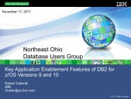 DB2 9 and 10 SQL enhancements - neodbug