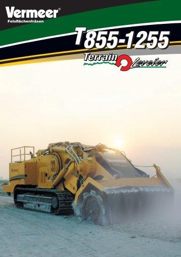 T855-T1255 Terrain Leveler - Vermeer Deutschland GmbH