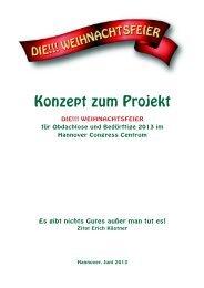 DAS KONZEPT Die !!! Weihnachtsfeier 2013