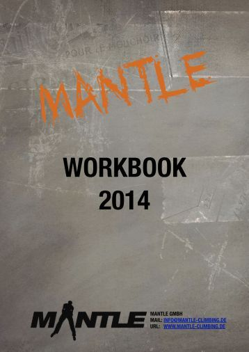 Workbook V5 - Mantle Climbing
