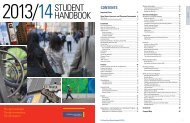 Student Handbook 2013-2014 - The Chang School - Ryerson ...