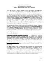 ACTA DE INICIACION - Ministerio de Cultura
