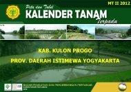 prov. daerah istimewa yogyakarta kab. kulon progo - BPTP Yogyakarta