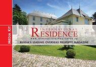 Media Kit - International Residence magazine