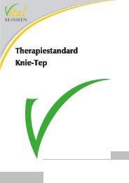 Therapiestandard Knie-Tep - in den Vital-Kliniken