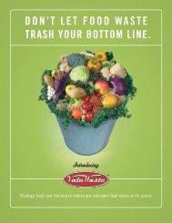DON'T LET FOOD WASTE TRASH YOUR BOTTOM LINE. - LeanPath