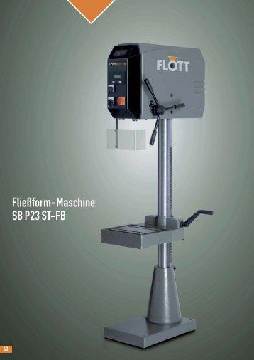 Produktblatt SB P23 ST-FB herunterladen (.pdf, 0.12MB) - Flott