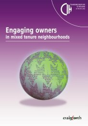 Engaging owners - Chartered Institute of Housing