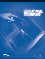 Flat Panel Displays - Arrow Electronics