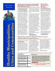 Vol. 1, Number 4 December 2005 (english) - BVSDE - PAHO/WHO