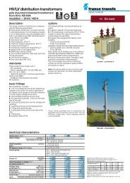 Oil HV/LV distribution transformers (ENG) - Trinet