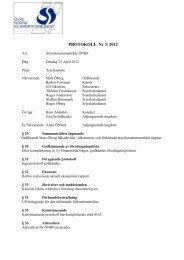Styrelsemöte 3