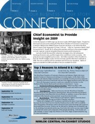 Chief Economist to Provide Insight on 2009 - West Shore Chamber ...