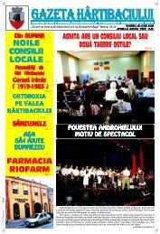 Gazeta Hartibaciului Februarie 2008 - Agnita