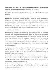 Der Landtag Nordrhein-Westfalen fordert die ... - Rüdiger Sagel
