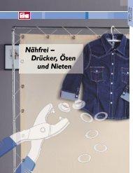 Nähfrei – Drücker, Ösen und Nieten - W Lange