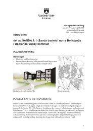 del av SANDA 1:1 - Upplands Väsby kommun