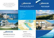 BOATHOUSE - Oaks Hotels & Resorts