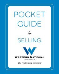 pocket guide - Western National Insurance Group