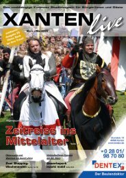 Zeitreise ins Mittelalter Seite 7 - Xanten Live