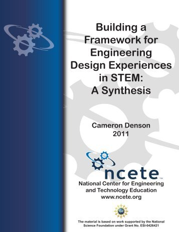 A Synthesis - National Center for Engineering and Technology ...