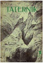 Taternik 1 1977 - Polski Związek Alpinizmu