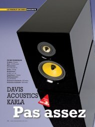 DAVIS ACOUSTICS KARLA - audio alchemy