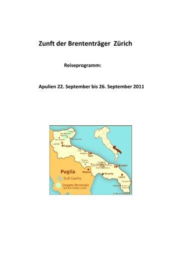 Zunft der Brententräger Zürich