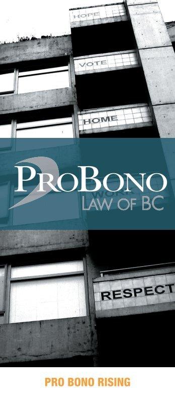 Pro Bono Law of BC - SCI Information Database