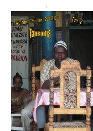 2008.12 Teil 2: Tansania - vogtmich.de