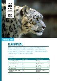 Snow leopard online activities - WWF UK