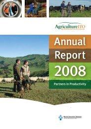 Annual Report 2008 - Agito