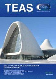baku's high-profile new landmark in the spotlight 08 / 2013 - TEAS