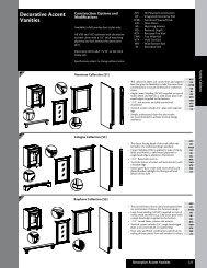 Decorative Accent Vanities - Roberts Company, Inc.