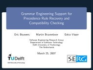 Grammar Engineering Support for Precedence Rule Recovery and ...