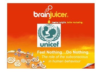 Feel Nothing Do Nothing_John Kearon and Omar ... - BrainJuicer